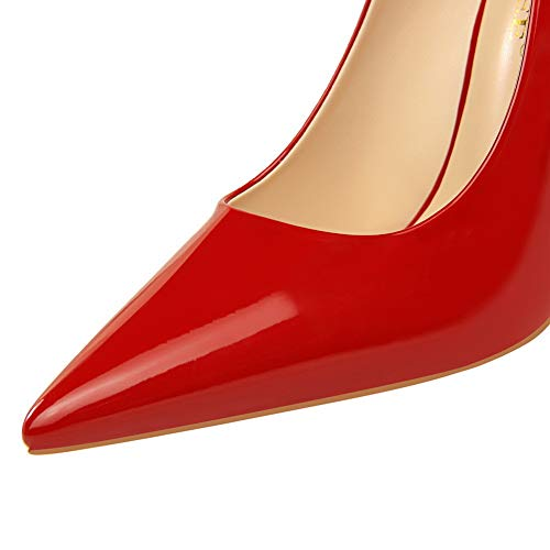 AdeeSu Rouge 5 Femme Compensées Red Sandales SDC05693 36 qwWxrfAqBz