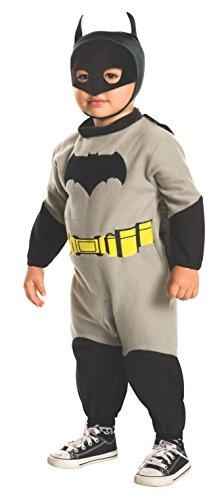 Rubie's Costume Dawn of Justice Batman EZ-On Costume Romper, 2T -