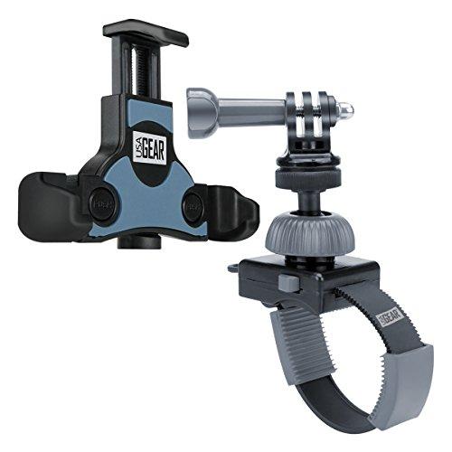 USA Gear Action Camera Accessories Bundle Set Zip Tie Style