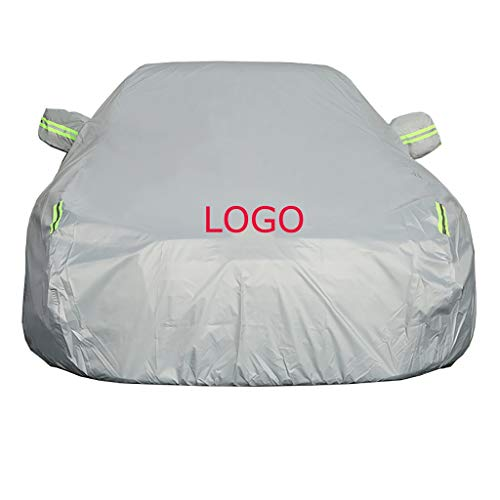 (XXchin Car Cover to FIT Honda Come with Logo Waterproof Summer and Winter Car Cover UV Protection Car Clothes to Fit Honda (Size : Freed))