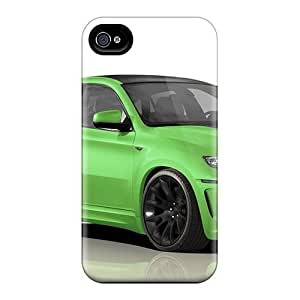 New Style Tpu 6 Protective Case Cover/ Iphone Case - Green Bmw X6 M