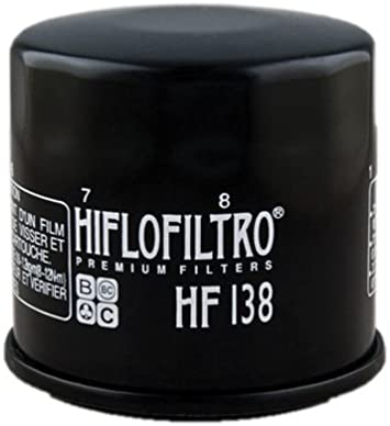 Pack of 2 Hiflofiltro Black 2 Pack HF138RC-2 Premium Racing Oil Filter 2 Pack