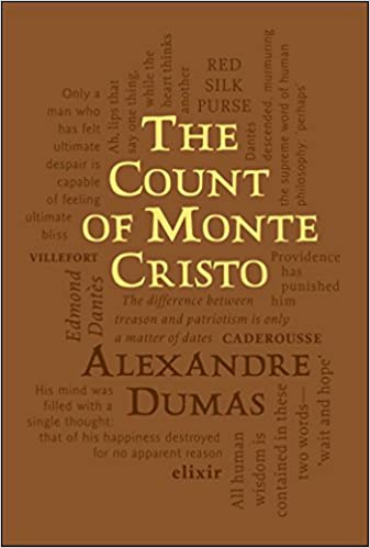 Image result for book cover the count of monte cristo word cloud classic