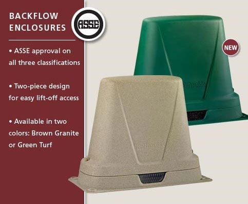 Dekorra Model 301 BG Class 3 Backflow Protection Box (Brown)