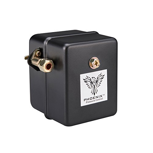 Phoenix 69HAU1 Heavy Duty 115/150 PSI 1-Port Air Compressor Switch with Unloader Valve (Furnas type) (Unloader Assembly)