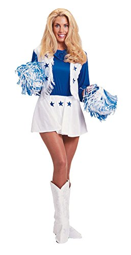 Dallas Cowboys Cheerleader Adult Costume - Large ()