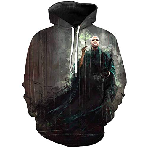 Harry Shops Halloween Holiday New Lord Voldemort Hoodie Costume-Male-Large -