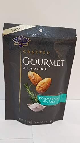 BLUE DIAMOND Rosemary And Sea Salt Gourmet Almonds, 5 Ounce from Blue Diamond Almonds