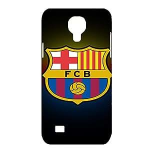 FC Barcelona Team Logo Customized Shockproof Slim Hard Plastic 3D Case LA6K051 For Samsung Galaxy S4 mini