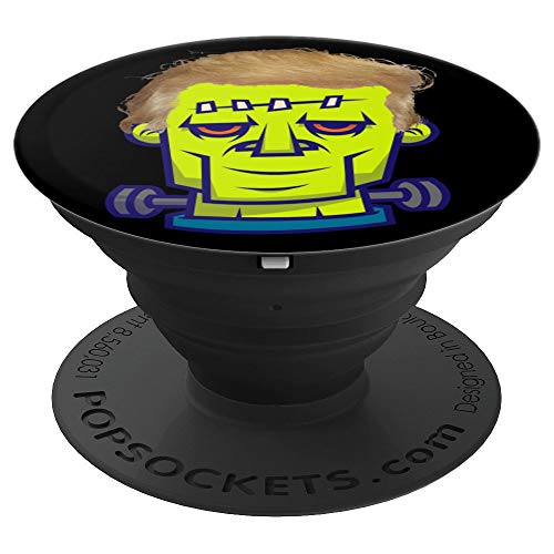 Trumpenstein Monster Socket funny Frankenstein Trump Hair - PopSockets Grip and Stand for Phones and Tablets -