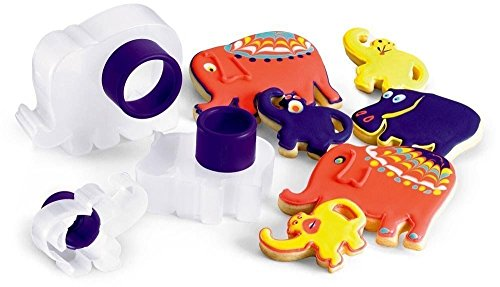 Cuisipro Animals Snap Fit 3 Piece Cookie