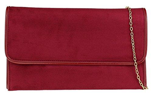 Burgundy Glossy Bag Bag Girly Trim Clutch Clutch Burgundy HandBags HandBags Trim Girly Glossy Iq7Cwgq