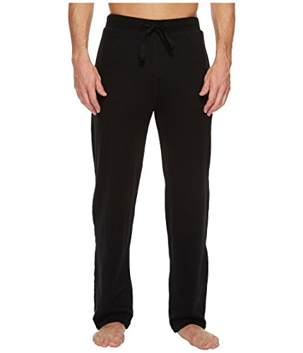 Polo Ralph Lauren Men's Waffle Knit PJ Pants Polo Black/Red Pony Player X-Large (Waffle Polo Knit)
