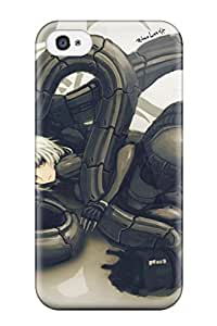 MitchellBrownshop 9796362K105551255 metal gear solid anime Anime Pop Culture Hard Plastic iPhone 4/4s cases