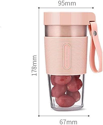 LAMTON Mini Exprimidor, Jugo portátil Recargable USB Multifuncional Copa eléctrico de la Fruta Jugo Blender, Conveniente for el hogar, Oficina y Viajes