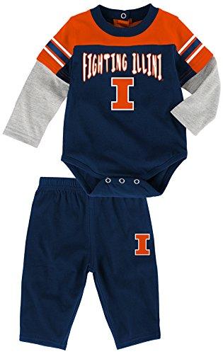 NCAA by Outerstuff NCAA Illinois Illini Infant