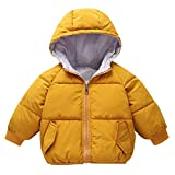 liliko Toddler Baby Boys Girls Down Jacket Coat Warm Padded Thick Outerwear Sweaters
