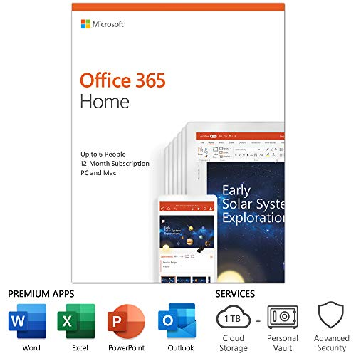 Microsoft Office 12 month subscription Activation product image