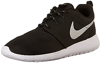 Nike Womens Roshe One Running Shoe Blackmetallic Platinumwhite (9) 0