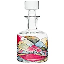 ANTONI BARCELONA Whiskey Decanter 32oz - Unique Liquor Decanter, Rum, Tequila, Bourbon, Scotch & Mouthwash - Unique Gifts For Men, Women, Dad, Him, Groom - Set Of 1
