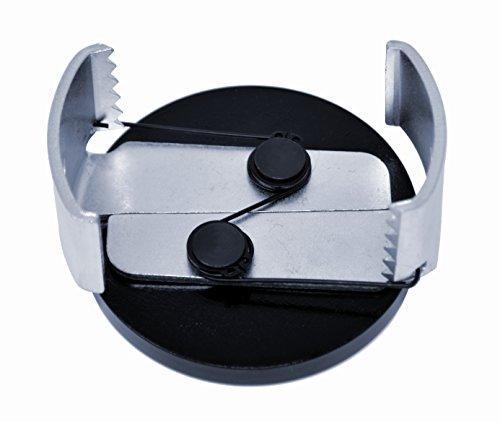 Motivx Tools Large Adjustable Oil Filter Wrench for Removing 3.15