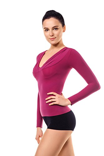 774729a2367e1 MD Womens Shoulder Compression Slimming Shirt Tank Top Bust and Waist Shaper