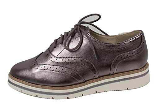 Soda Women's Oxford Lace Up White Rubber Soles Shoes