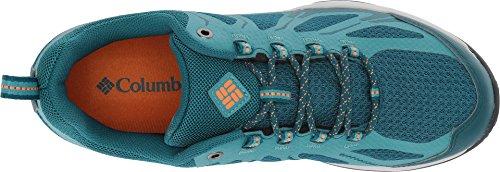 Columbia Peakfreak Xcrsn Ii Xcel Low Outdry, Zapatillas de Deporte para Exterior para Mujer, Gris Azul (Deep Wave/ Valencia)