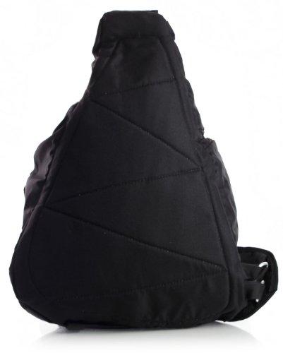 Big Handbag Shop Kreuzkörper Einzel Strap Umhängetasche Sport Reise Rucksack