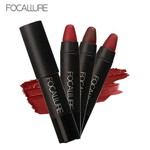 sagton-focallure-long-lasting-3-color-red-velvet-matte-pencil-lipstick-crayon-makeup-set