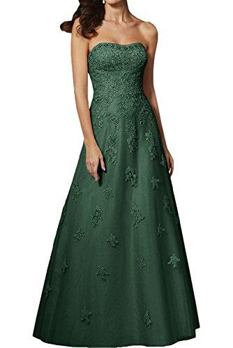 A Festlichkleider Dunkel Lawender Marie Abendkleider Rock Langes Linie Brautmutterkleider Braut Spitze Promkleider La Gruen nTUqwCAx8q
