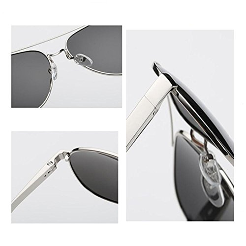 HUWQX Lunettes de soleil Lunettes de sport conduite Fancy Colorful lunettes polarisantes, 1#