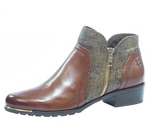 Bottes de femmes 36 37 38 39 40 41 Caprice brun largeur cuir remplacement semelle G Braun 7plqi1eb