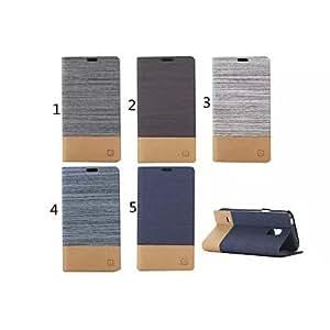 YULIN Teléfono Móvil Samsung - Carcasas de Cuerpo Completo/Fundas con Soporte - Diseño Especial - para Samsung Galaxy Mini S5 Cuero PU ) , 5#