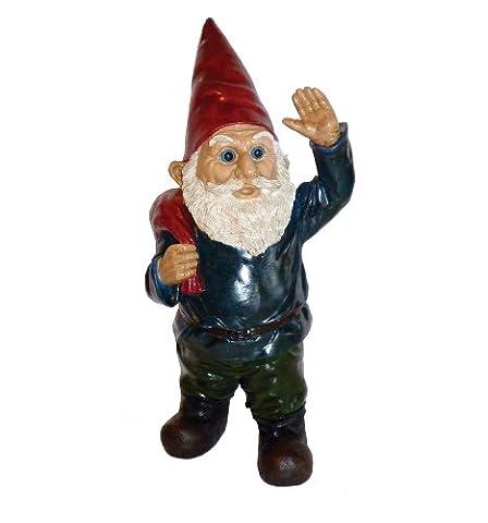 Michael Carr Designs 80043 Garrold Gnome, Hi Neighbor (Gnome With Hats)