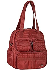 Lug Womens Puddle Jumper Overnight 2.0 Gym Bag, Spice Orange, One Size