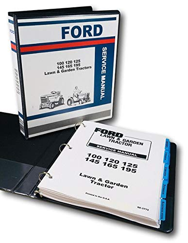 Ford LGT 100 120 125 145 165 195 Lawn Garden Tractor Service Repair Shop Manual ()