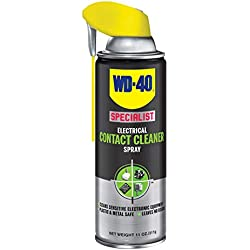 WD40 Company 300554 Specialist Contact Cleaner Spray - 11 oz. with Smart Straw