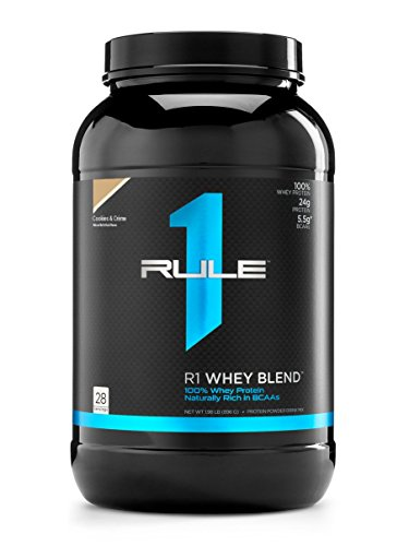 Cheap R1 Whey Blend, Rule 1 Proteins (Cookies and Creme, 28 Servings)
