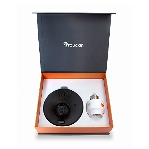 Toucan Wifi Outdoor Security Camera Powered By Your Light