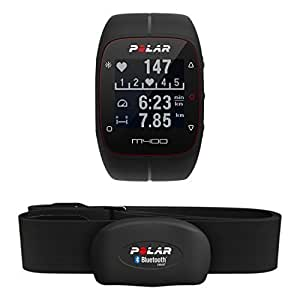 POLAR M400 Sports Watch with GPS and Heart Monitor, Black, One Size