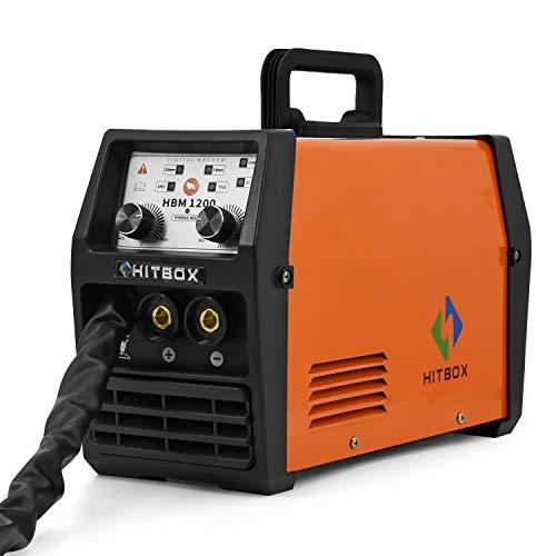 HITBOX MIG Welder 120A 220V LIFT TIG ARC Inverter Flux Core Wire Gasless MIG Welding Machine 3 in 1