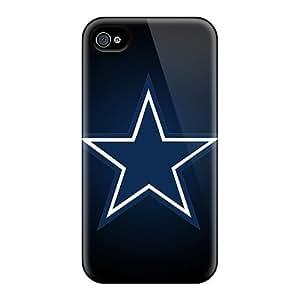 L.M.CASE Fashion Protective Dallas Cowboys 1 Case Cover For Iphone 4/4s