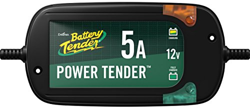 (Battery Tender (022-0186G-DL-WH) 12V 5 Amp Battery Charger)
