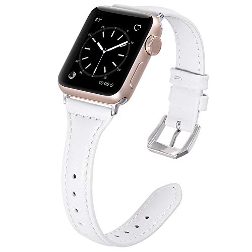 f23a7e870298 Karei Leather Bands Compatible with Apple Watch Band 38mm 40mm