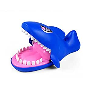 Wenasi Creative Novelty Prank Dentist Bite Finger Interactive Board Game Shark Joke Toys Party Game for Adults and Kids