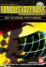 Famous Jazz Bass Chord Progressions Qwikguide (Book and CD) (Jazz Bass Famous)