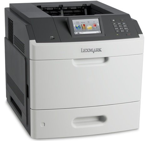 A4 Duplex Usb - Lexmark 40G0110 MS810dn - Printer - monochrome - Duplex - laser - A4/Legal - 1200 x 1200 dpi - up to 55 ppm - capacity: 650 sheets - USB 2.0, Gigabit LAN, USB host