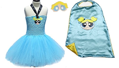 Blue Bubble Girl Tutu Dress from Chunks of Charm (7, -