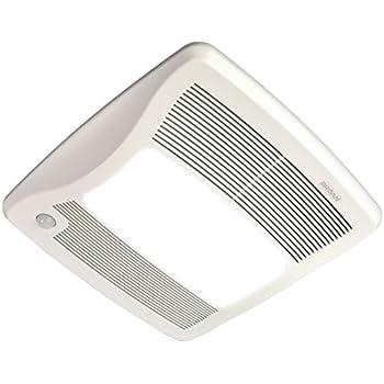 Broan zb80ml ultra series multi speed motion - Broan 80 cfm bathroom fan with light ...